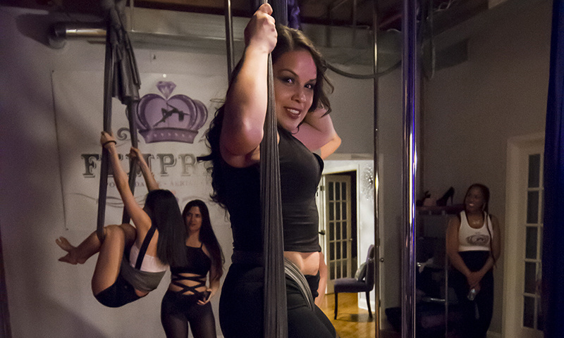 Fempress Fit Intro to Aerial Basics